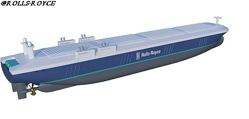 Rolls Royce remote and auonomous vessel 500